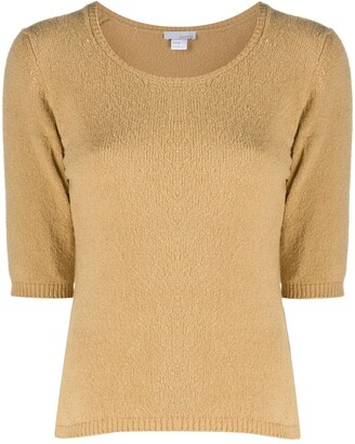 Avant Toi Short-Sleeved Sweater