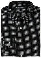 Nick Graham Men's Floral Print Cotton Dress Shirt