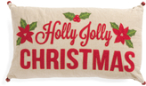 14x24 Holly Jolly Christmas Pillow