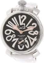 GaGa MILANO Men's 5010.06S Leather Automatic Fashion Watch