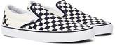 Vans Slip-On Plimsolls Black & White Check