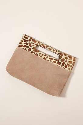 Anthropologie Verona Textured Clutch