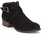 Vince Camuto Casha Peforated Buckled Booties