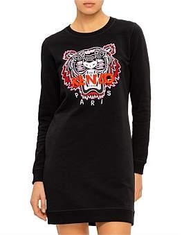 Kenzo Classic Tiger Dress - Redhead