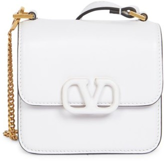 Valentino Micro VSling Leather Crossbody Bag