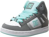 DC Rebound High Top Skate Shoe (Little Kid/Big Kid)