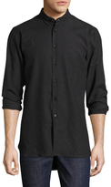 Naked & Famous Denim Long Brushed Twill Sportshirt