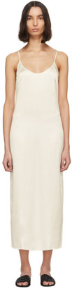 La Perla Off-White Silk Slip Dress