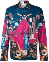 Etro American icon print shirt
