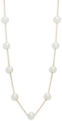 Effy 14K Yellow Gold 5MM Freshwater Pearl Necklace