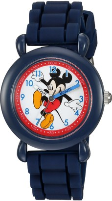 Disney Boys' Mickey Mouse Analog-Quartz Watch with Silicone Strap