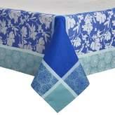"""Sur La Table Floral Jacquard Tablecloth FLOWER SPRING , 70"""" x 70"""""""