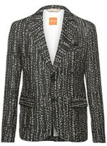 Hugo Boss Baze H-W Slim Fit, Cotton Linen Embroidered Sport Coat 38R Blue