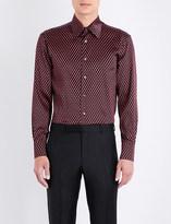 Brioni Teardrop silk shirt