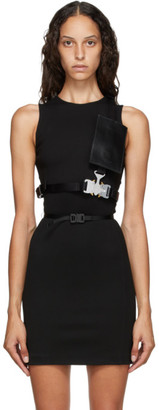 Alyx Black Tri-Buckle Chest Belt