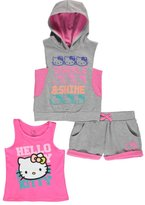 "Hello Kitty Big Girls' ""Sparkle & Shine"" 3-Piece Outfit"