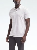 Banana Republic Soft-Wash Contrast Stitch Polo
