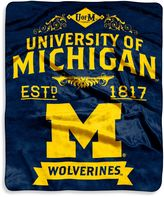 Bed Bath & Beyond University of Michigan Raschel Throw