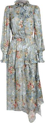 Preen by Thornton Bregazzi Ellie Balloon Sleeve Floral Dress