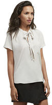 Kenneth Cole Tie Neck Blouse