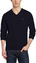 Victorinox Men's Suisse Signature Long Sleeve V-Neck Jersey Sweater