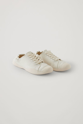 Cos Organic Cotton Canvas Sneakers