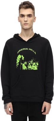 Siberia Hills Batwing Cotton Blend Sweatshirt Hoodie