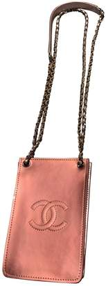 Chanel \N Pink Patent leather Clutch bags
