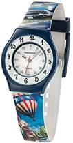Freegun ee5188 – Boys 'Watch – Analogue Quartz – White Dial – Bracelet Multicolor Plastic