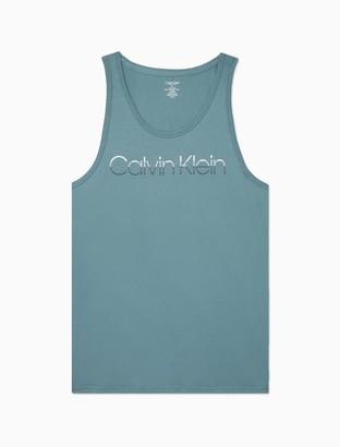 Calvin Klein Fade Logo Sleeveless Tank Top