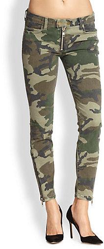 TEXTILE Elizabeth and James Cooper Camouflage Skinny Pants