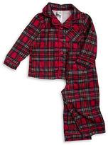 Little Me Plaid Fleece Pajama Set