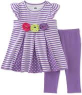 Kids Headquarters 2-Pc. Tunic & Capri Leggings Set, Baby Girls (0-24 months)