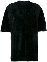 Drome furry detail coat
