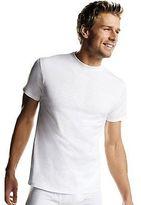 Hanes Men's White TAGLESS Crewneck Undershirt 6-Pack Men's Shirts