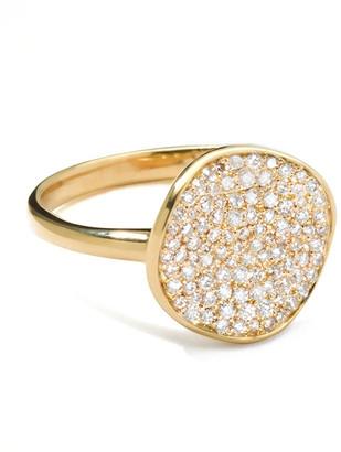 Ippolita Stardust Diamond Disc Ring, 12mm