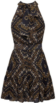 Nicholas Selima Silk Dress