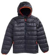 Patagonia Boy's Hooded Down Jacket