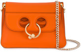 J.W.Anderson orange mini Pierce cross-body bag - women - Leather/Metal (Other) - One Size