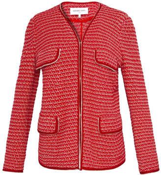 Gerard Darel Multi-pocket Tweed Jacket