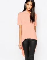AX Paris Dipped Back Hem Top
