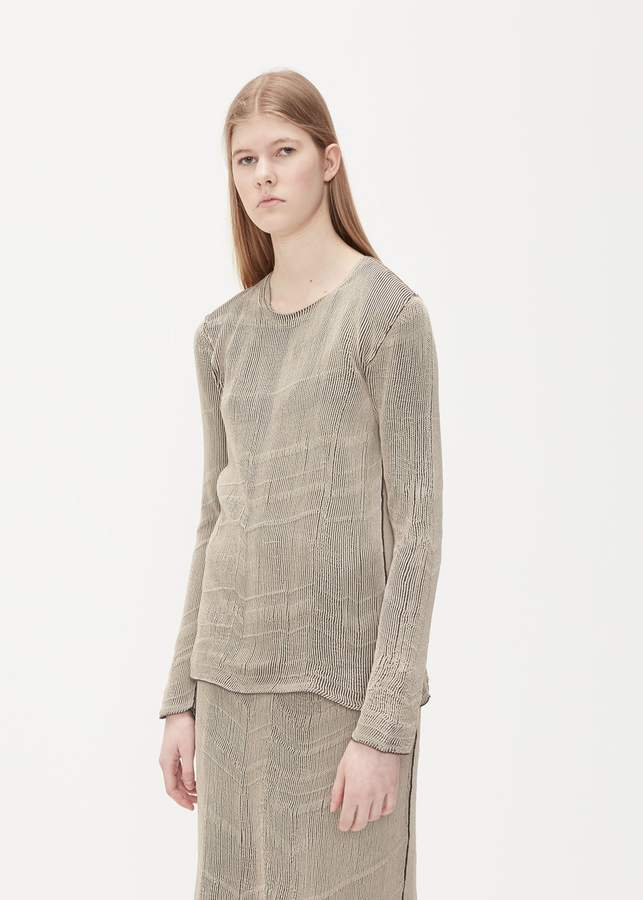 MM6 MAISON MARGIELA Long Sleeve Rib Knit