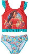 Disney Disney's Elena of Avalor Toddler Girl Ruffle Tankini Top & Swimsuit Bottoms Set