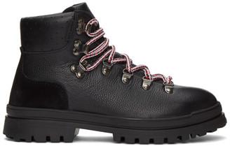 Moncler Black Trekset Ankle Boots