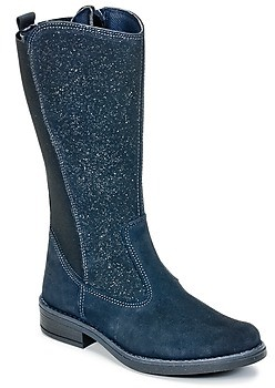 Citrouille et Compagnie HASI girls's High Boots in Blue
