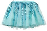 Billieblush Sequined Tulle Skirt (Toddler) - Flaque-2 Years