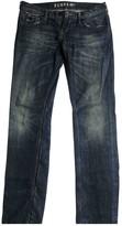 Denham Jeans Blue Cotton Jeans for Women