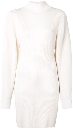 Dion Lee Knitted Merino Ribbed Dress