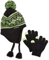 Weatherproof Beanie & Glove Set - Boys Big Kid