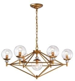 Home Accessories Paulita 30.3 7-Light Indoor Pendant Light with Light Kit
